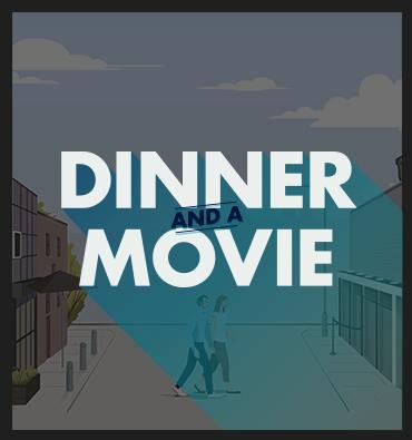 Cineplex & The Rec Room Dinner and a Movie