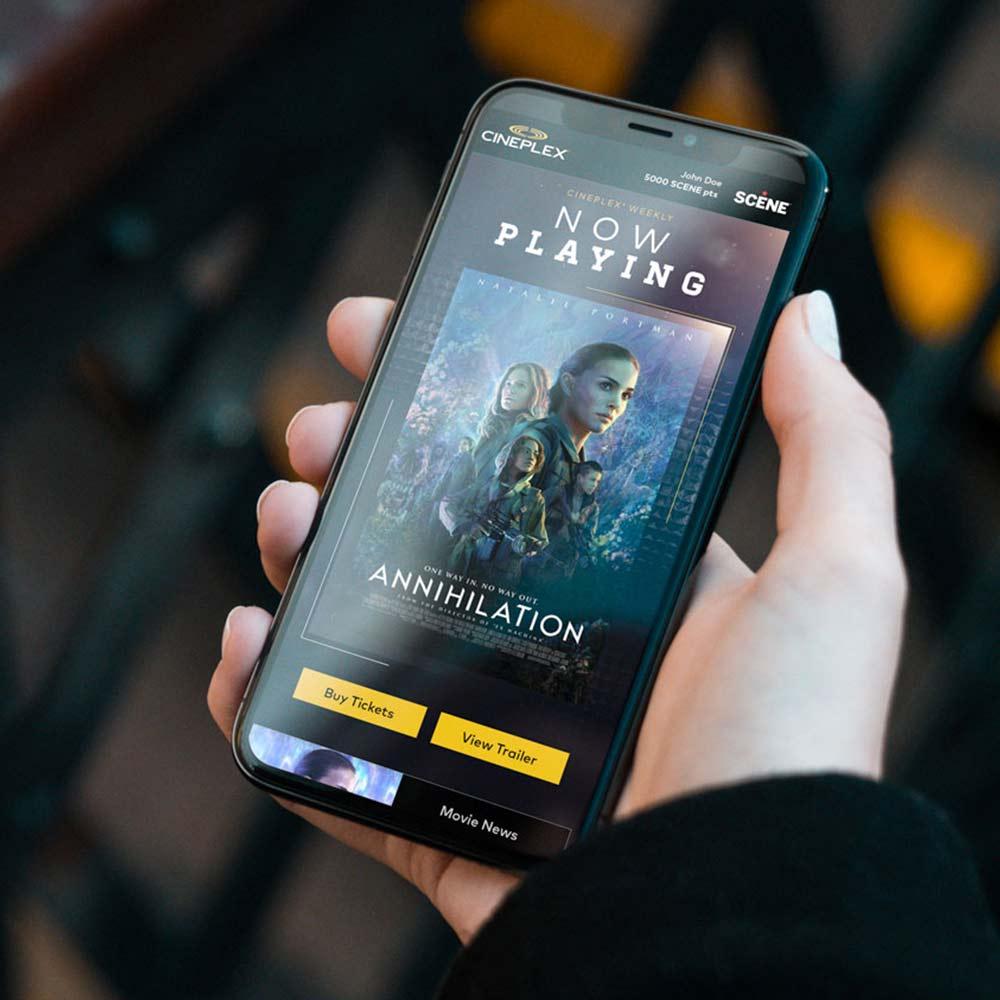 Cineplex Content Design